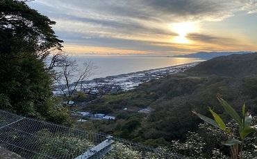 久能山東照宮からの駿河湾